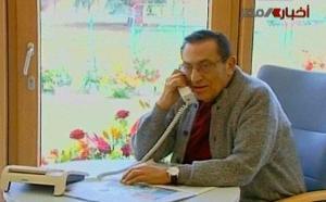 صورة جديدة لمبارك فى المستشفى الالمانى