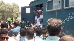 معتقلين من شمال سيناء لحظة الحرية
