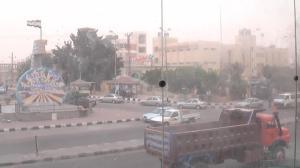 رياح عاتية تضرب شمال سيناء