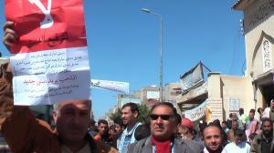 """قيادى الحركة الثورية الاشتراكية """" يناير """" محمد عبيد فى مظاهرات """" لا لترقيع الدستور """""""