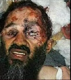 صورةنشرت اعلاميا بعد اعلان مصرع اسامة بن لادن