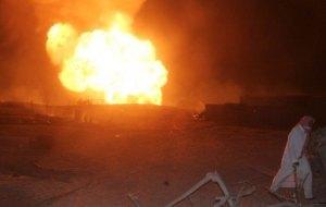 موقع التفجير الرابع شرق العريش