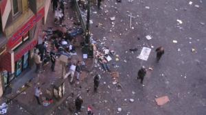 مذبحة ترتكبها قوات الشرطة العسكرية والداخلية لثوار التحرير اليوم الاحد