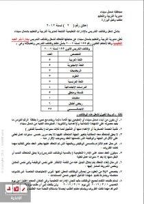 وظائف حكومية فى شمال سيناء