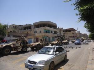مدرعات كوماندو سكوت الامريكية السريعة تشارك فى عملية النسر فى شمال سيناء