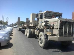 ناقلات المعدات الثقلية للجيش المصرى
