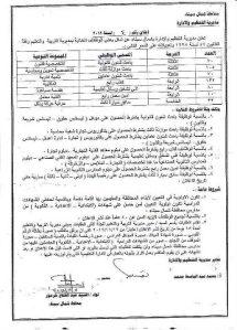"""اعلان عن 500 وظيفة إدارية """"تثبيت""""بمديرية التربية والتعليم بشمال سيناء"""