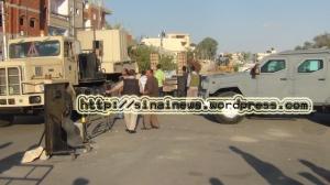 مدرعات جورخا فى شمال سيناء sinainews.wordpress.com