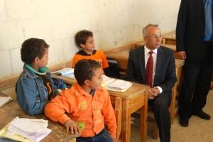 ححافظ شمال سيناء مع طلاب وسط سيناء